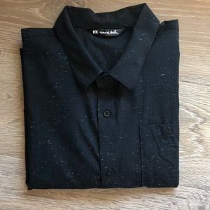 Travis Mathew button down shirt sleeve shirt.